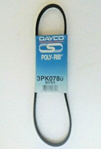 Dayco 3PK0780 Accessory Drive Belt for Daihatsu Mira, Holden Apollo Barina