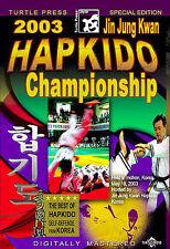 2003 Jin Jung Kwan Hapkido Championship DVD New