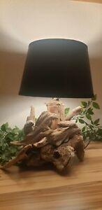 Treibholz Lampe Tisch Stehlampe aus Teak Wurzelholz |