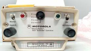 1 NOS Motorola Mobile Radio MOCOM 70 FM Radio Head TCN 6100CK-2  + BOX