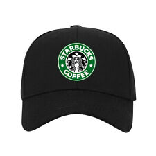 New Hat StarBucks Coffee Logo Printed Baseball Caps One Size Fits All Unisex #A