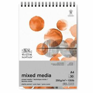 Winsor & Newton Mixed Media Pad for Drawing, Painting A4
