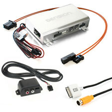 Auto Kfz iPhone+USB+iPod+AUX-IN Adapter für Audi A4 A5 A6 A8 Q5 Q7 mit MMi 2G