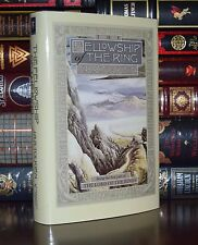 Fellowship of the Ring by J.R.R. Tolkien Lord of the Rings New Deluxe Hardcover