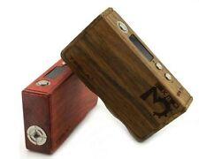Tesla 160W TC Wood Mod Full Vape Kit Box Portable Wooden Battery Cube Invader 3