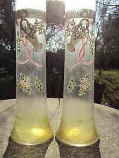 paire de vase émaillés