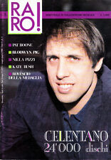 ADRIANO CELENTANO | RARO! ANNO 1 N.3 1988 | ROVESCIO DELLA MEDAGLIA | KATE BUSH