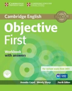 Objective First Workbook with Answers with Audio CD by Annette Capel, Wendy Shar