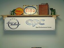 Opel Performance Center Banner OPC Car Workshop Garage Display