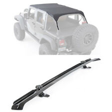 2010-2018 Jeep Wrangler JK 4 Doors Extended Brief Top with Windshield Channel