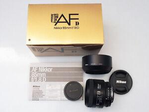 Objektiv AF Nikkor 85 mm, f/1.8 D