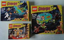 LEGO®  Scooby Doo  Mystery Sets  75900 Museum & 75901 Plane & 75902 Machine  Neu
