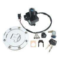 Ignition Switch Fuel Gas Cap Lock Set Key For Honda CBR900RR CBR600 NSR250