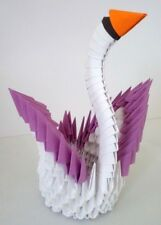 Hand-made 3D Origami Swan - A Great Gift!