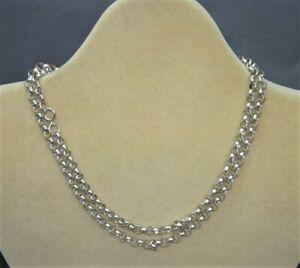 "Sterling Silver Long 30"" Belcher Chain - Thames Hospice"