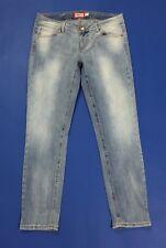 Met jeans donna W30 tg 44 slim skinny usato stretch aderenti vita bassa T2501