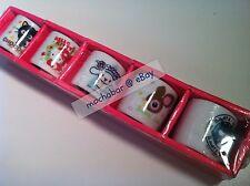 New VINTAGE 04 HELLO KITTY CHOCOCAT BADTZ CINNAMOROLL DEARY LOU Mini Tea Cup Set