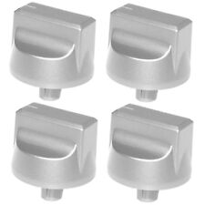 STOVES Genuine Oven Cooker Hob Control Switch Knobs Silver 444447283 Spare x 4