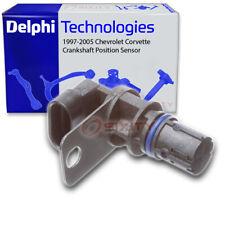 Delphi Crankshaft Position Sensor for 1997-2005 Chevrolet Corvette - Engine bv
