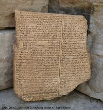 EPIC OF GILGAMESH Pre-Biblical Deluge Story museum replica cuneiform tablet
