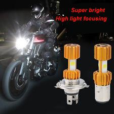 H6 BA20D LED COB Motorcycle Bike Hi/Lo Headlight Lamp Bulb DC12V 6000K 2000LM