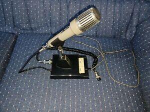 KENWOOD MODEL MC-50 HAM Radio Cardioid Dynamic Desk Mic Microphone untested