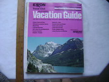 1973 Exxon Travel Club Vacation Guide - West Central Recreational Regions.