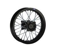 HMParts Pit Bike Dirt Bike Cross Alu Felge hinten eloxiert 1.85x12 - Typ2 15mm