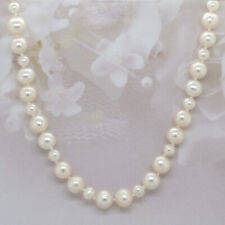 """Fresh Water Pearl Necklace 4.5 to 6.5 MM 20"""" Long"""