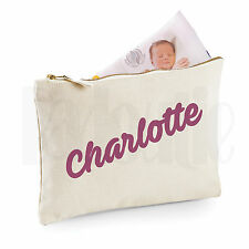 Personalised Baby Nappy Pouch/ Mini Changing Bag- GIFT FOR NEW BABY  [#CHPIAV]