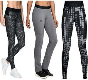 Under Armour Womens Lightweight Sports Leggings Gym Compression Leggings