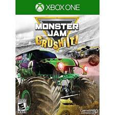 MONSTER JAM: CRUSH IT!  (XBOX ONE, 2016) (0325)     *****FREE SHIPPNG USA*****