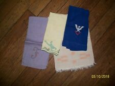 Antique Linen Tea Towels (4)