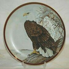 Hamilton Collection Bald Eagle Plate Majestic Birds of Prey COA C. Ford Riley