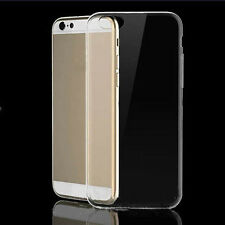 For iPhone 6S Plus Soft TPU Ultra Thin Slim Clear Transparent Cover Case W87