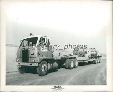 1960 Propellant Rocket Engine Transported Original News Service Photo