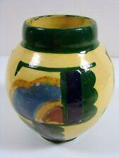 Vase Céramique Années 1950 Signé René Nicole de Ferney, H - 17 cm