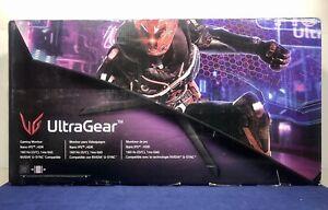 "LG UltraGear 34GP83A-B 34"" Curved WQHD 1440p 144Hz IPS 21:9 Gaming Monitor NEW!"