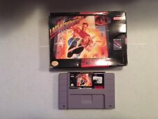 LAST ACTION HERO BOXED SNES SUPER NINTENDO GAME TESTED & WORKING
