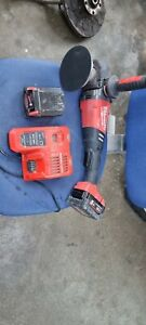 Milwaukee M18FAP180-0 18V Fuel 180mm Cordless Polisher With Batterys And Charger