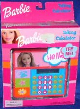 "Barbie Talking Calculator Electronic 5"" Made 2001 New by Toy Island"