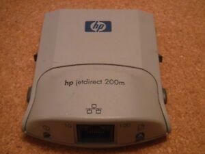 HP Hewlett Packard 200M Jetdirect Card - Print Server - J6039A