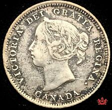 1889 Canada 5 cents - VF/EF - Lot#1527P