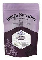 Organic Super Greens Powder - 250g - Indigo Herbs
