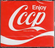 CCCP FEDELI ALLA LINEA enjoy 2CD 1994 PRIMA STAMPA SIGILLATO CASE DOPPIO