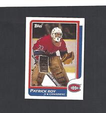 1986-87 TOPPS HOCKEY CARD #53 PATRICK ROY ROOKIE