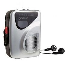 Groov-e Retro Series Personal Cassette Tape Player/Recorder with Radio AM/FM