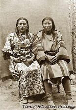 Native American Crow Two-Spirit Couple - Osh-Tisch & Partner - Photo Print