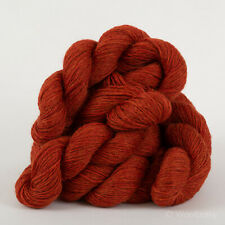 *250g*PURE BRITISH SHETLAND WOOL* 4 Ply Red Spice Tweed. Rust.yarn.knitting.100%