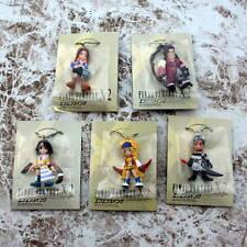 Final Fantasy X-2 FF Swing BANDAI Figure Keychain 5 Sets Yuna Lenne Rikku Paine
